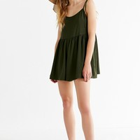 UO Tie-Strap Frock Romper | Urban Outfitters