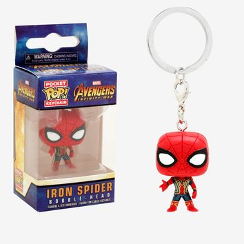 Funko Marvel Avengers: Infinity War Pocket Pop! Iron Spider Key Chain