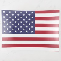 Patriotic large trinket tray with flag of USA