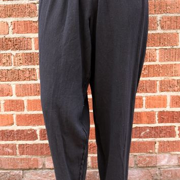 Dolphin Pant - Black by Oh My Gauze!