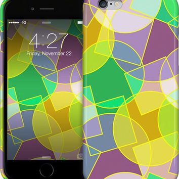 Stained glass colorful geometric mosaic pattern iPhone Cases & Skins by Natalia Bykova | Nuvango