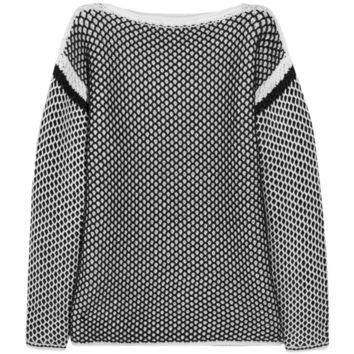 Alexander Wang Chunky-knit cotton-blend sweater