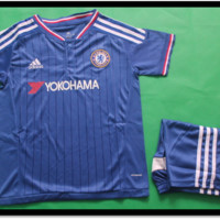 Kids Chelsea Shirts and Shorts 2015/16