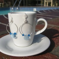 Sterling Silver Dangles with the Blues