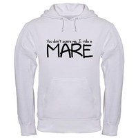 Mare Hooded Sweatshirt on CafePress.com