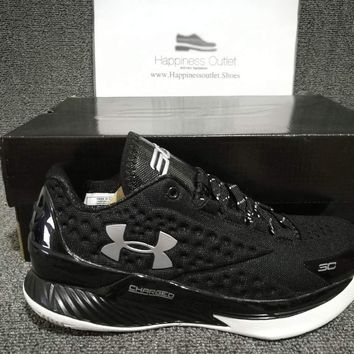 hcxx Under Armour Curry 1 Low Black