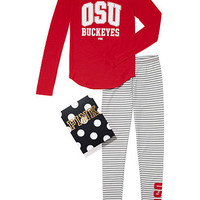 The Ohio State University Thermal Sleep Gift Set - PINK - Victoria's Secret