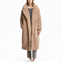 H&M Long Pile Coat $99