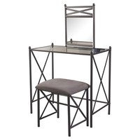 Mission Hills Vanity Set - Grey