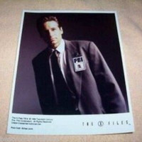 THE X FILES FOX MULDER (DAVID DUCHOVNY) PHOTO SEXY!