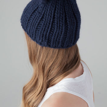 EUGENIA KIM Felix Beanie in Navy