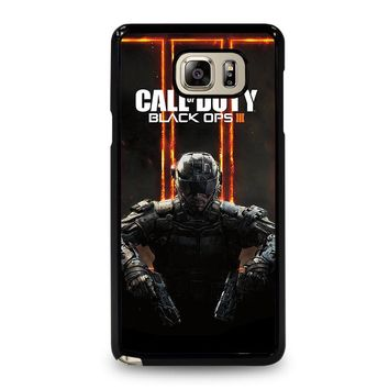 CALL OF DUTY BLACK OPS 3 Samsung Galaxy Note 5 Case Cover