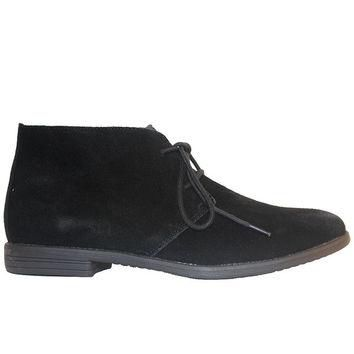 Chelsea Crew Junior - Black Suede Desert Boot