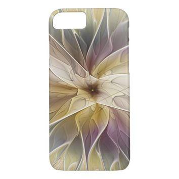Floral Fantasy Pattern Abstract Fractal Art iPhone 7 Case