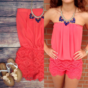 FLIRTY LITTLE SECRET ROMPER