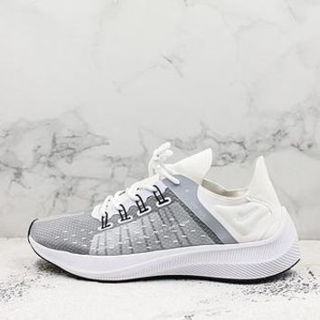 Nike Exp-x14 White Running Shoes