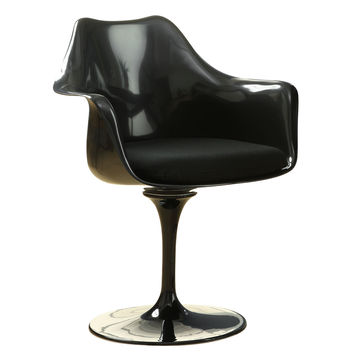 Tulip Dining Armchair, Black