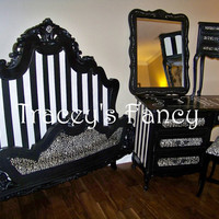 "French Provincial Bedroom Set ""Gone Hollywood"" - MADE TO ORDER"