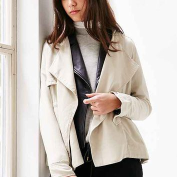 Silence + Noise Kirra Swing Trench Coat