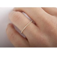 Catbird :: C A T B I R D :: Fairy Light Eternity Band