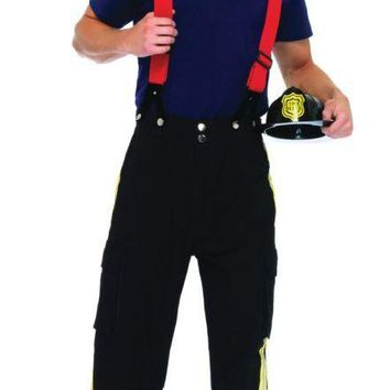 Fireman costume for Halloween