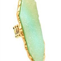 Ophelia Ring in Seafoam