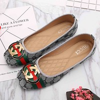 GUCCI : Women Fashion Flat shoes