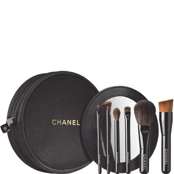 LES MINIS DE CHANEL MINI BRUSH SET (1 pce) - LES MINIS DE CHANEL - Chanel Makeup