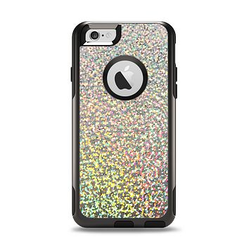 The Colorful Confetti Glitter Apple iPhone 6 Otterbox Commuter Case Skin Set