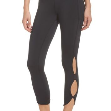 Free People FP Movement Infinity Cutout Crop Leggings | Nordstrom