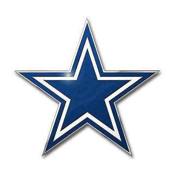 Licensed Official NFL Dallas Cowboys Premium Vinyl Decal / Sticker / Emblem - Pick Your Pack