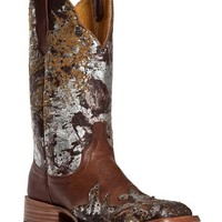 Cinch Classic Mica Alloy Wingtip Cowgirl Boots - Square Toe - Sheplers
