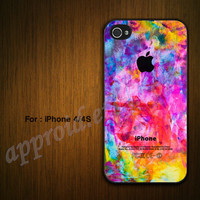 Colorful -Custom iPhone 4 Case iPhone 4S Case iPhone 5 Cover-Unique Case for iPhone 4 /4S/5 Case