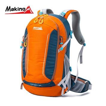Makino 2016 Outdoor Hiking Backpack Waterproof Nylon Lightweight Bags Large Capacity Men And  Women Sport Traveling Rucksack 40L