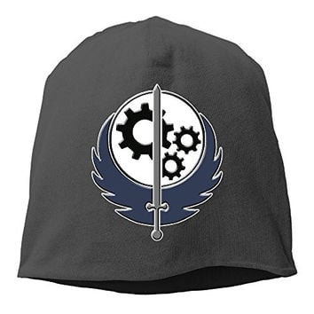 Brotherhood Of Steel Knit Beanie Cap