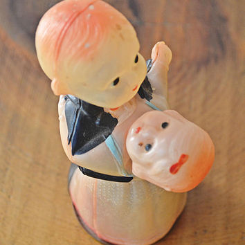 Vintage Celluloid Toys, 1940's Wind-Up Toys, Made In Japan