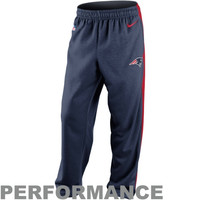 Nike New England Patriots Sideline Shield Nailhead Performance Pants – Navy Blue