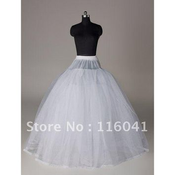 Wedding Dress Prom Dress Slip without Bone Homecoming Dress Prom Ball Gown Petticoat with Lace Trim