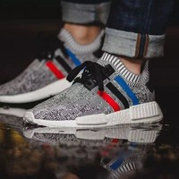Best Deal Online Adidas NMD R1 PK Boost Primeknit Men Women Running Shoes
