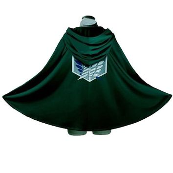 Rulercosplay Attack on Titan Shingeki No Kyojin Survey Crops Cosplay Cloak