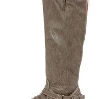 Outlaw 81 Taupe Knee High Riding Boots