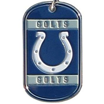 NFL Dog Tag - Colts