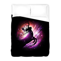 Black Hole Escape Duvet Cover