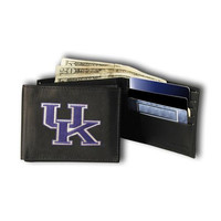 Kentucky Wildcats NCAA Embroidered Billfold Wallet