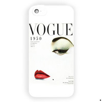 Vogue 1950 Mgazine Vintage Style For iPhone 5 / 5S / 5C Case