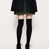 ASOS | ASOS Thin Ribbed Over The Knee Socks at ASOS