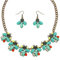 Charlotte Necklace in Turquoise
