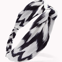 Knotted Ikat Headwrap