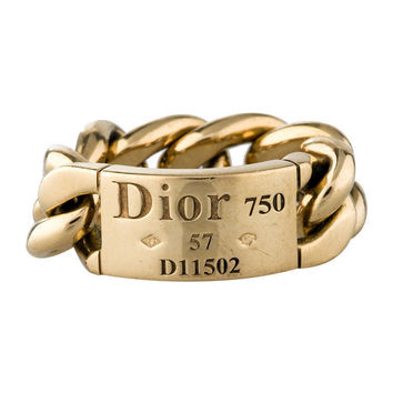 Jewelry Shiny Stylish Gift New Arrival Ladies Strong Character Fashion Chain Gold Ring [4956894340]
