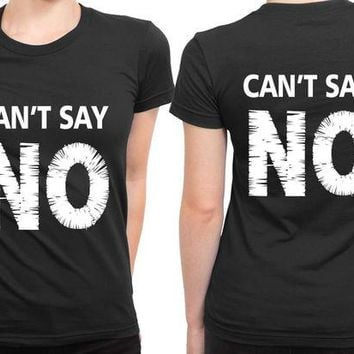 DCCKG72 Bryson Tiller Cant Say No Title 2 Sided Womens T Shirt